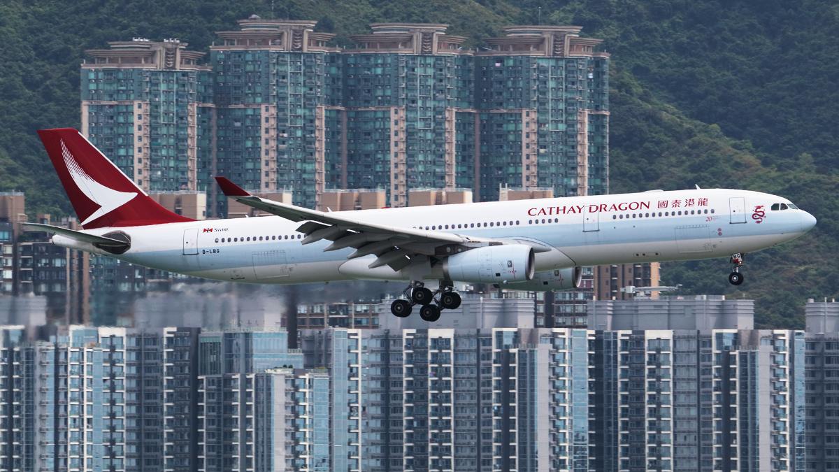 Cathay Dragon brand retired, 6,100 staff cut