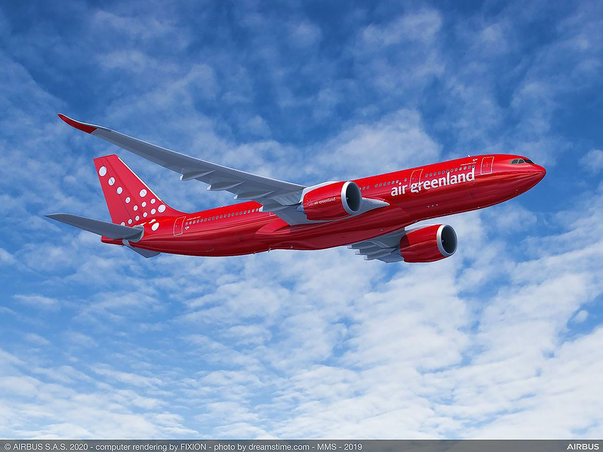 Airbus A330neo for Air Greenland