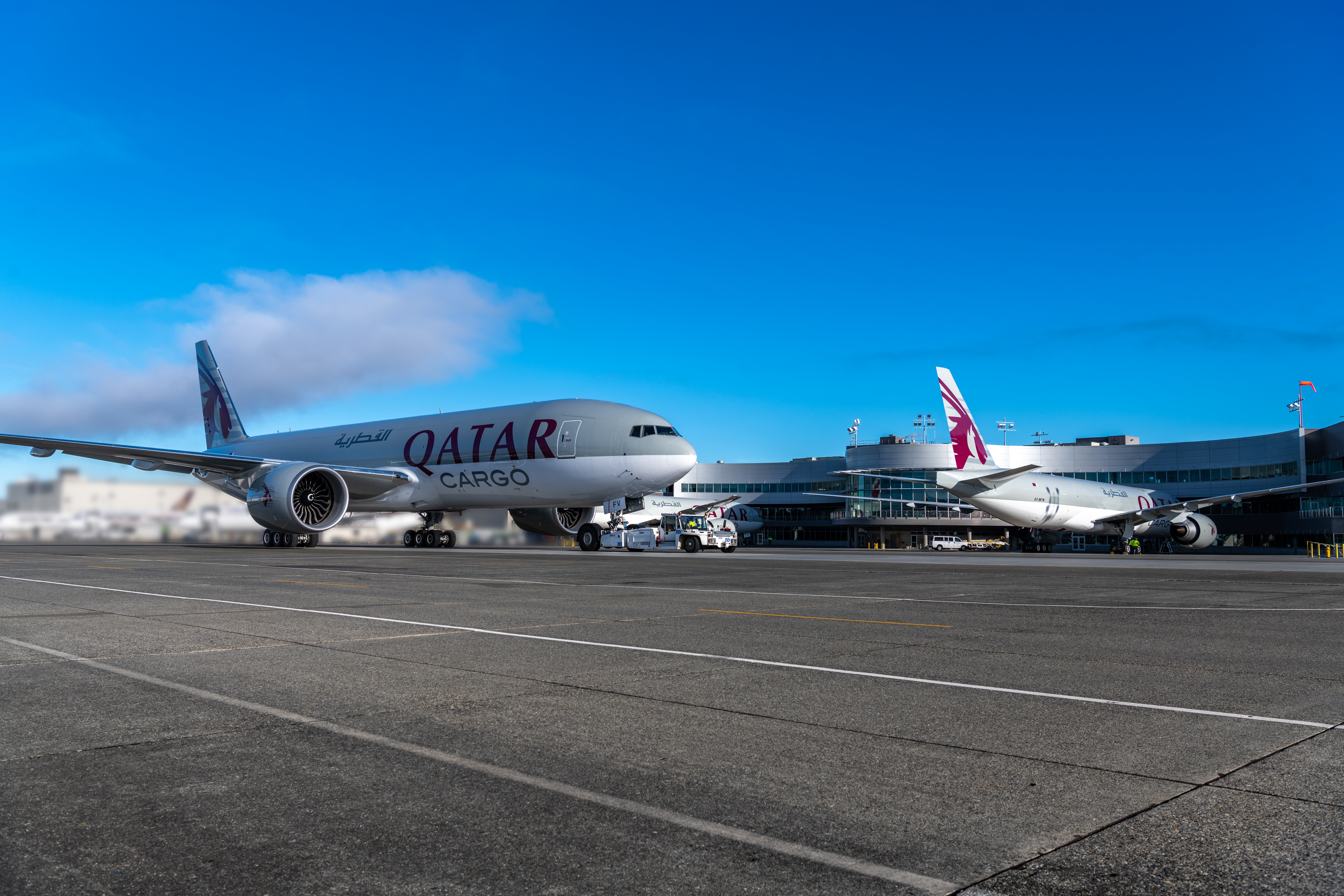 Boeing Delivers Trio of 777 Freighters to Qatar Airways Cargo