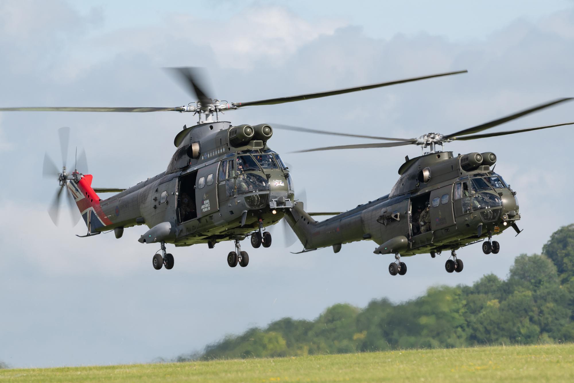 Westland Puma clocks up 50 years in RAF service